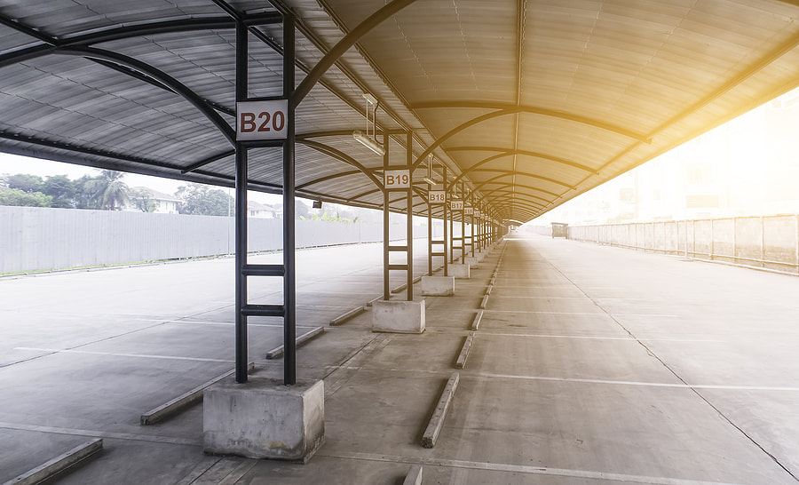concrete roofing for car parks